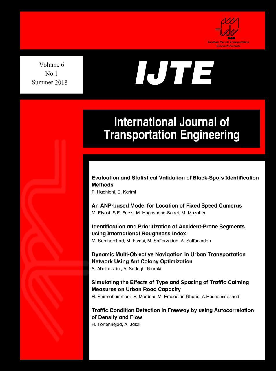 International Journal of Transportation Engineering